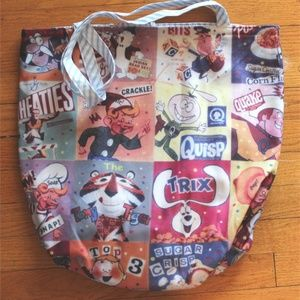 Handbags - Vintage Advertising Tote Bag - Cereal - NWT